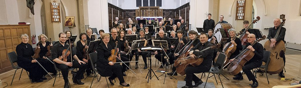 Settle Orchestra at Christ church Skipton