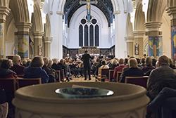 Settle Orchestra at Christ church Skipton
